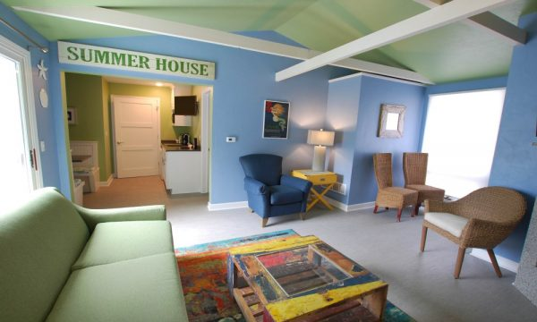 Cedar Guest House Living Room