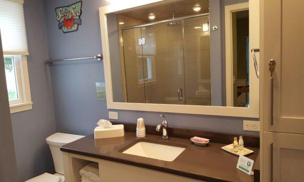 Cedar Guests House Bathroom Vanity
